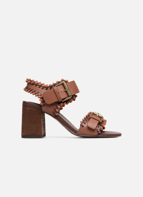 Sandales et nu-pieds See by Chloé Romy High Heel Marron vue derrière