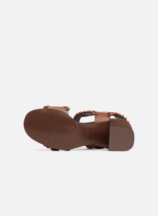 Sandales et nu-pieds See by Chloé Romy High Heel Marron vue haut