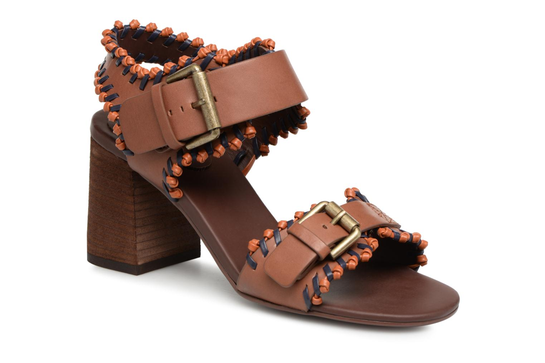 Nuevo zapatos See by Chloé Romy High en Heel (Marrón) - Sandalias en High Más cómodo 2bb060