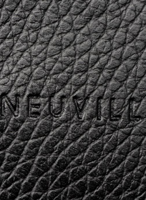 Petite Maroquinerie Neuville Lua Noir vue gauche