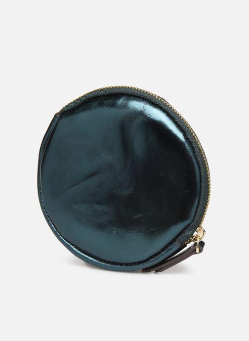 Petite Maroquinerie Neuville Lua Bleu vue droite