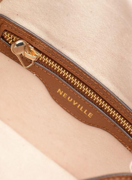 Handtassen Neuville Chili Bruin achterkant
