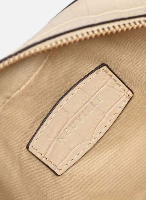 Handtassen Neuville Ovale Wit achterkant