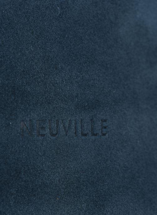 Sacs à main Neuville Morning Bleu vue gauche