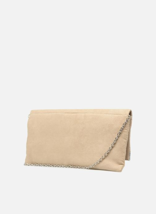 Handbags Menbur 83841 Beige view from the right