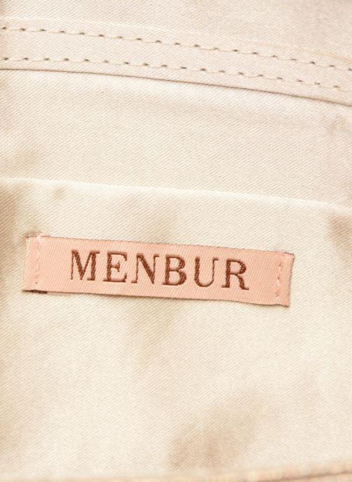 Handtassen Menbur 84158 Beige achterkant