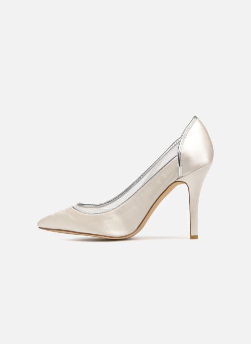 Zapatos de tacón Menbur 7255 Blanco vista de frente