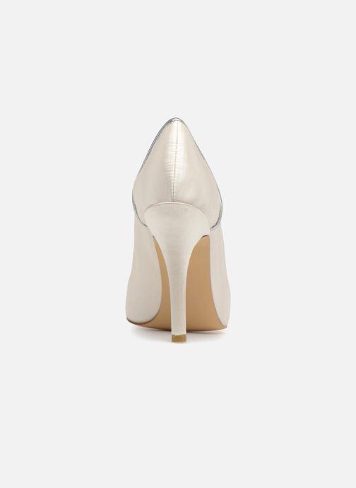 Zapatos de tacón Menbur 7255 Blanco vista lateral derecha