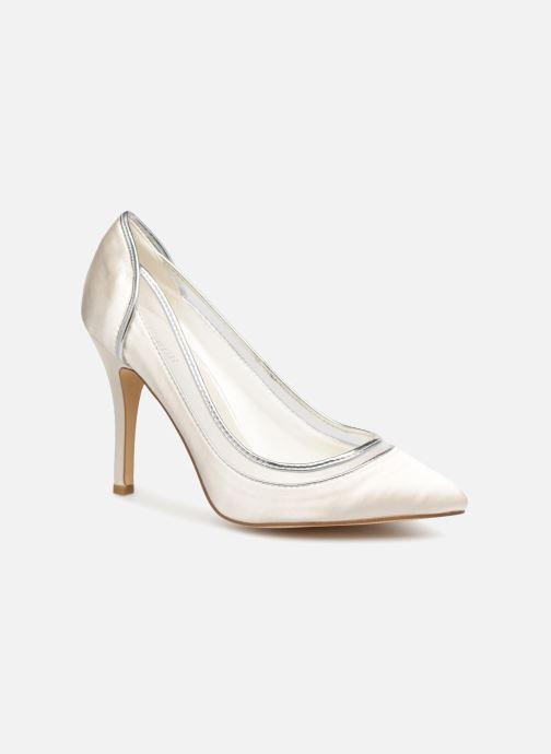Zapatos de tacón Menbur 7255 Blanco vista de detalle / par