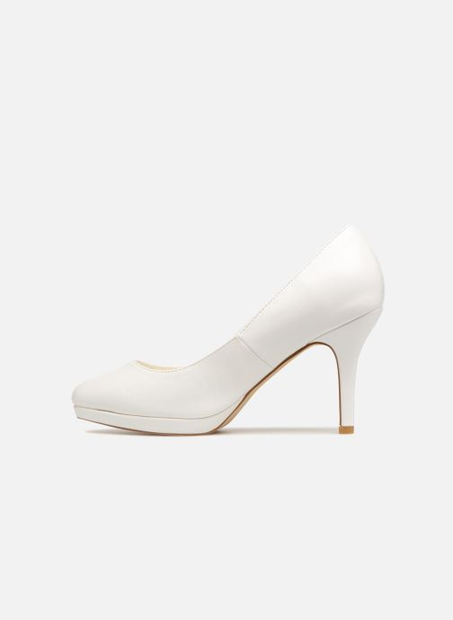 High heels Menbur 6812 White front view