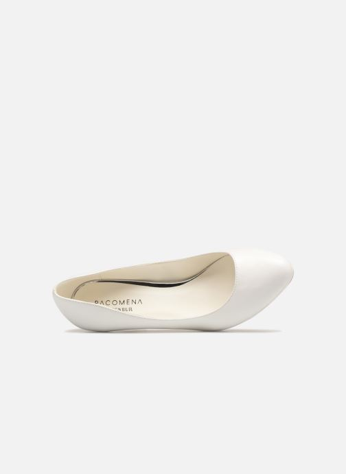 High heels Menbur 6812 White view from the left