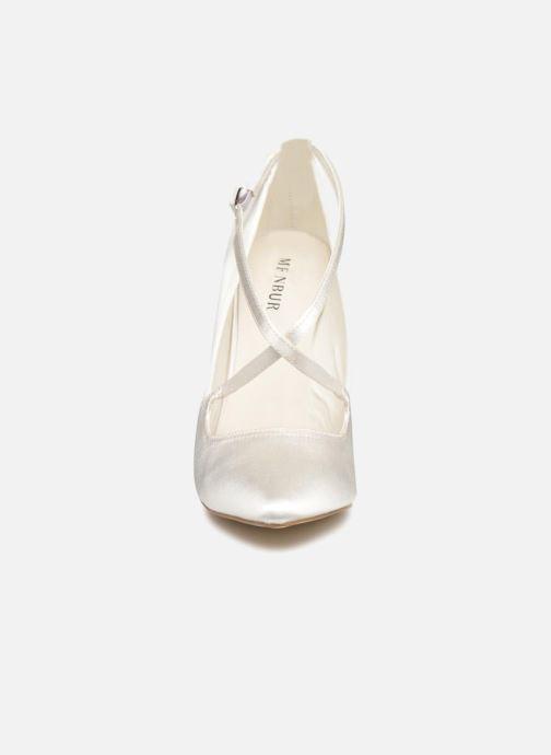 Høje hæle Menbur 6648 Hvid se skoene på