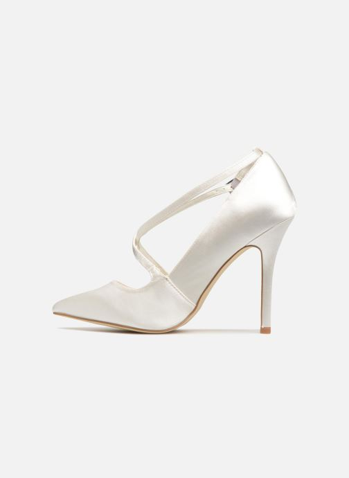 High heels Menbur 6648 White front view