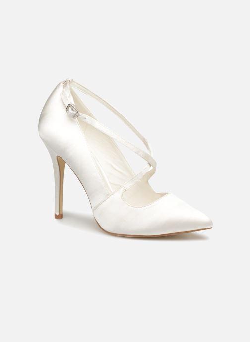 Høje hæle Menbur 6648 Hvid detaljeret billede af skoene