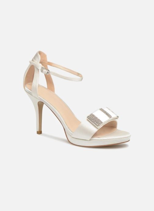 Høje hæle Menbur 6510 Hvid detaljeret billede af skoene