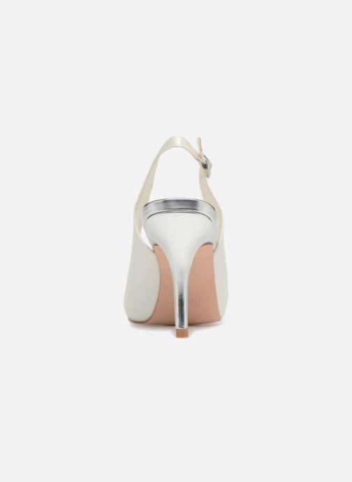 High heels Menbur 6265 White view from the right