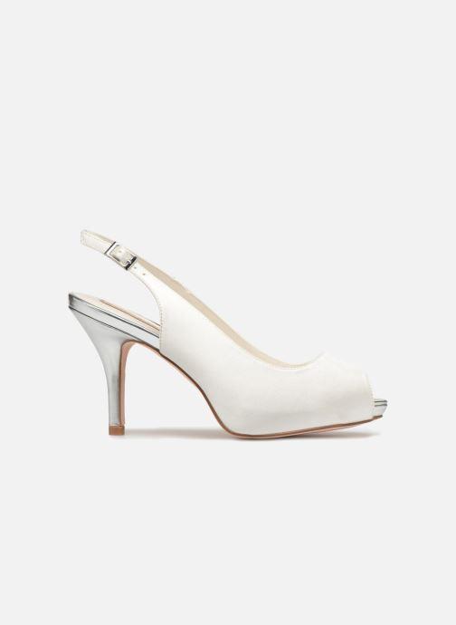 High heels Menbur 6265 White back view