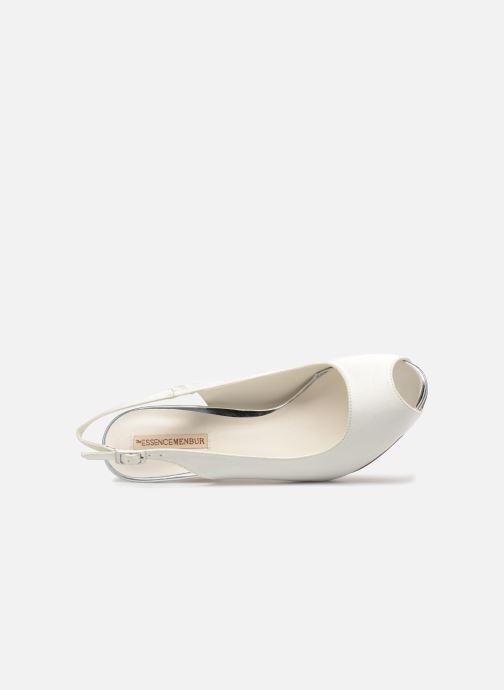 High heels Menbur 6265 White view from the left