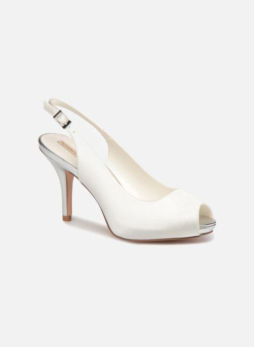 High heels Menbur 6265 White detailed view/ Pair view
