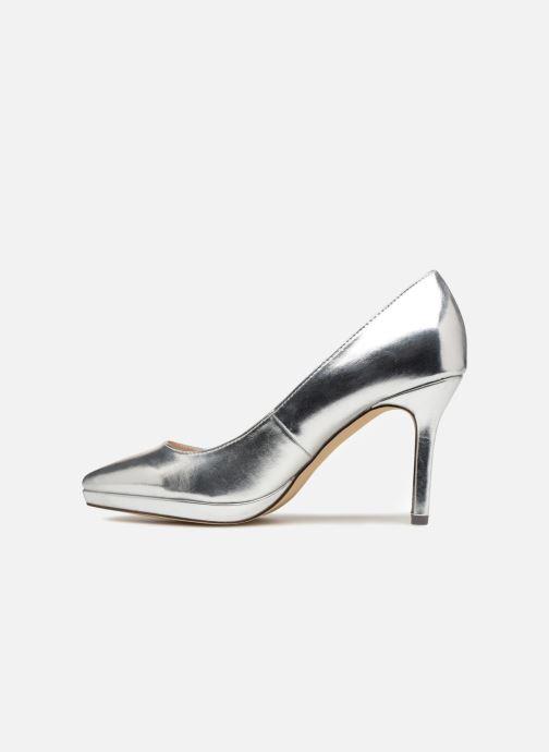High heels Menbur 7214 Silver front view