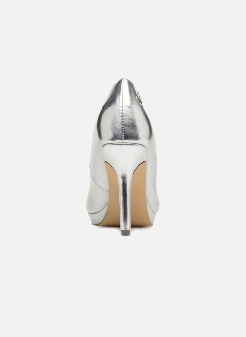 High heels Menbur 7214 Silver view from the right