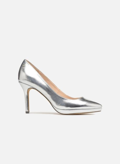 High heels Menbur 7214 Silver back view
