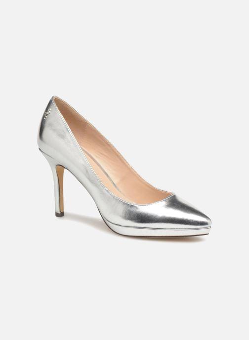 High heels Menbur 7214 Silver detailed view/ Pair view