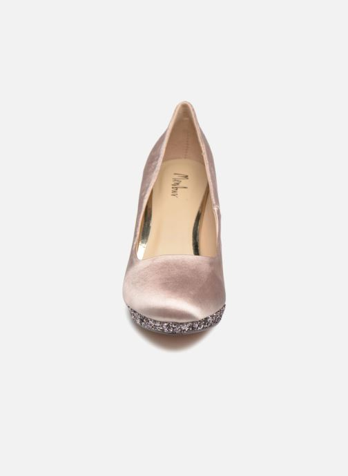 Escarpins Menbur 6738 Beige vue portées chaussures