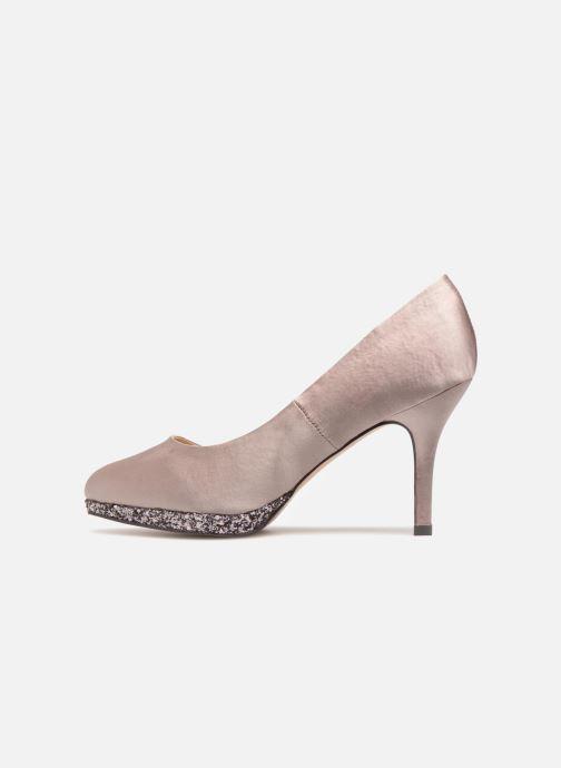 High heels Menbur 6738 Beige front view