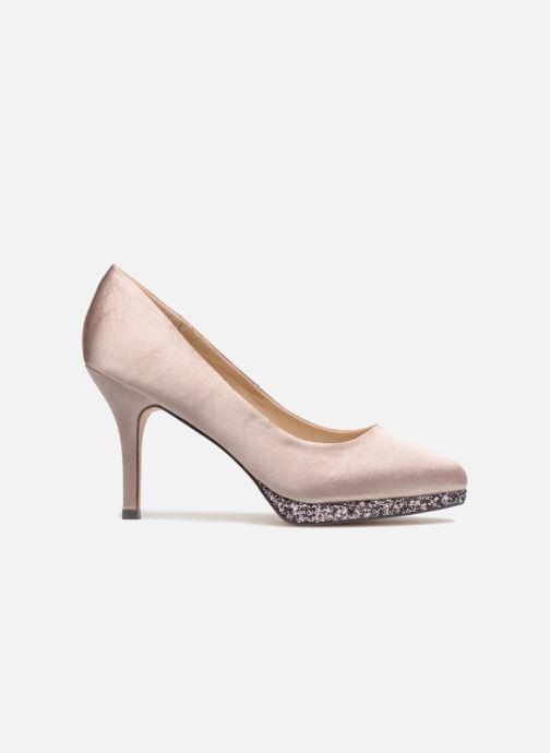 High heels Menbur 6738 Beige back view