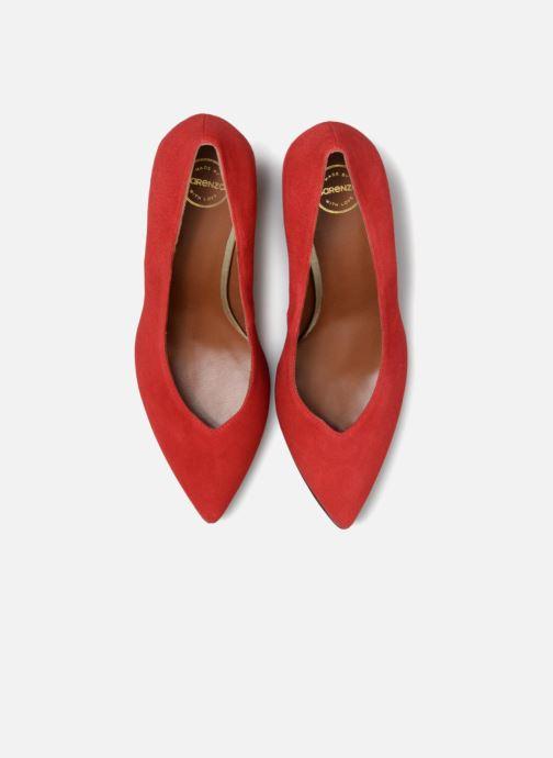 Escarpins Made by SARENZA Busy Girl Escarpins #6 Rouge vue portées chaussures