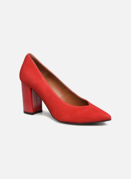 Zapatos de tacón Made by SARENZA Busy Girl Escarpins #6 Rojo vista lateral derecha