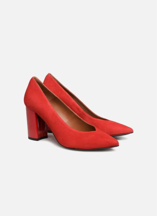 Pumps Made by SARENZA Busy Girl Escarpins #6 Rood achterkant
