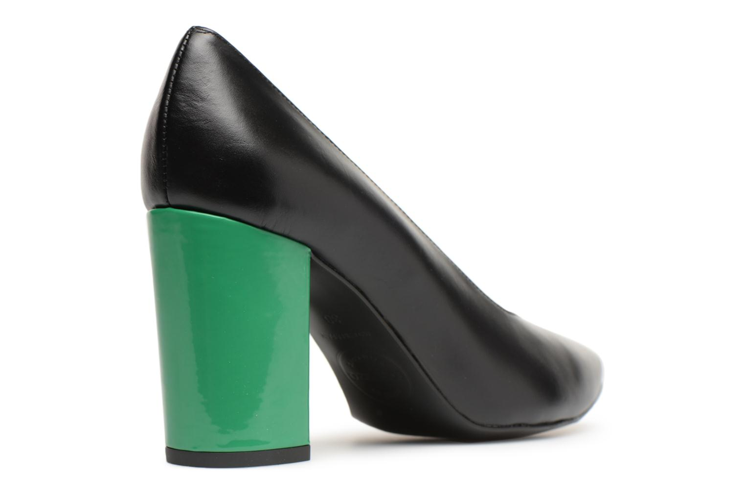 Cuir Sarenza Vert Lisse Made By Noirtalon Escarpins Vernis Busy Girl 6 575YqawC