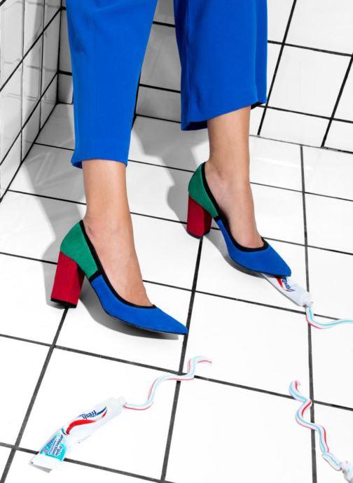 Escarpins Made by SARENZA Busy Girl Escarpins #7 Multicolore vue bas / vue portée sac