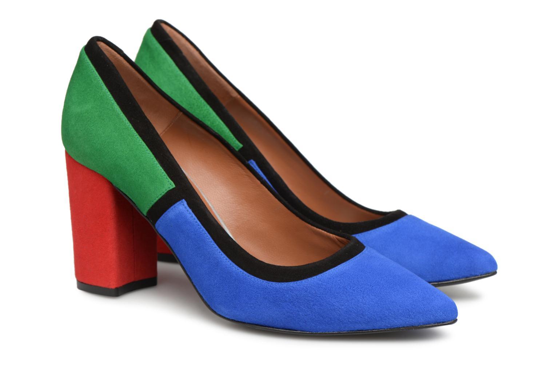 Cuir Multicolore Busy Velours Girl By Sarenza Escarpins 7 Made YqBPpxB