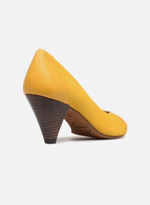 Pumps Made by SARENZA Toundra Escarpins #1 gelb ansicht von vorne