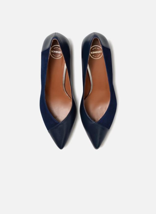 High heels Made by SARENZA Toundra Escarpins #1 Blue model view
