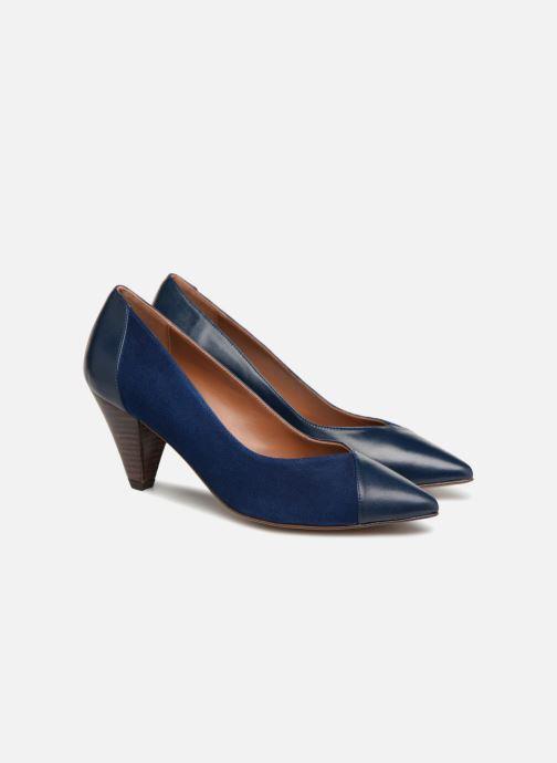 High heels Made by SARENZA Toundra Escarpins #1 Blue back view