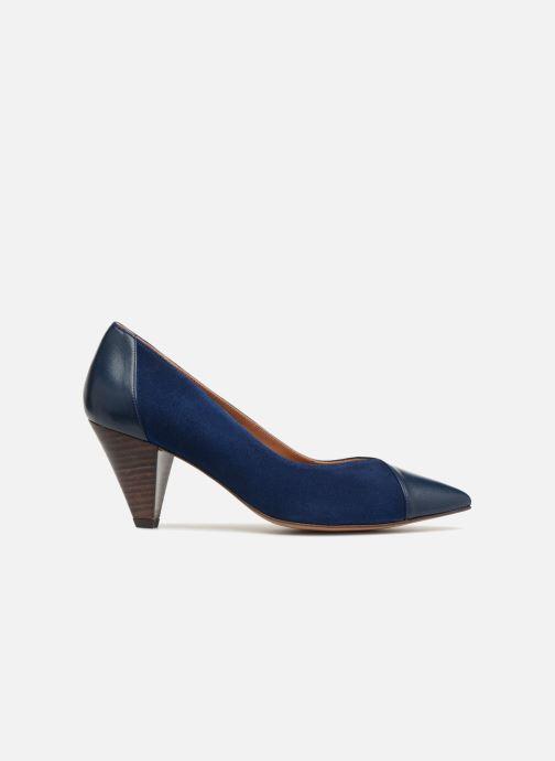 High heels Made by SARENZA Toundra Escarpins #1 Blue detailed view/ Pair view
