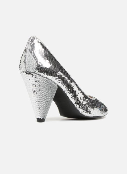 Zapatos de tacón Made by SARENZA 80's Disco Girl Escarpins #3 Plateado vista de frente