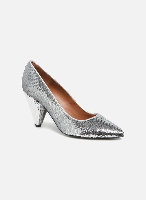 Zapatos de tacón Made by SARENZA 80's Disco Girl Escarpins #3 Plateado vista lateral derecha