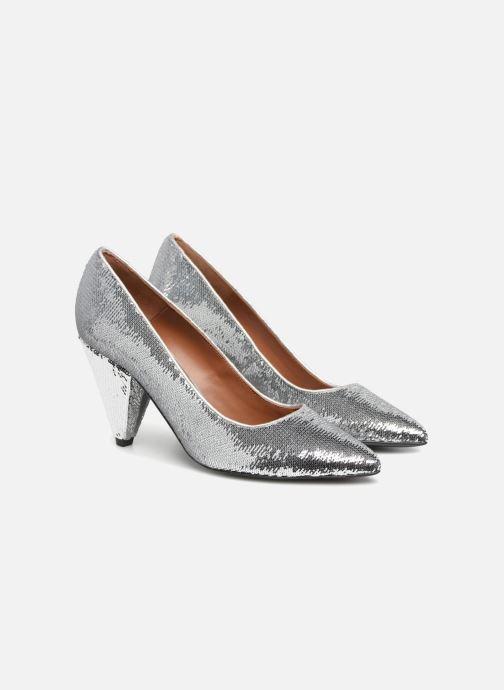Zapatos de tacón Made by SARENZA 80's Disco Girl Escarpins #3 Plateado vistra trasera