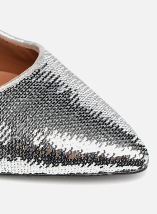 Zapatos de tacón Made by SARENZA 80's Disco Girl Escarpins #3 Plateado vista lateral izquierda