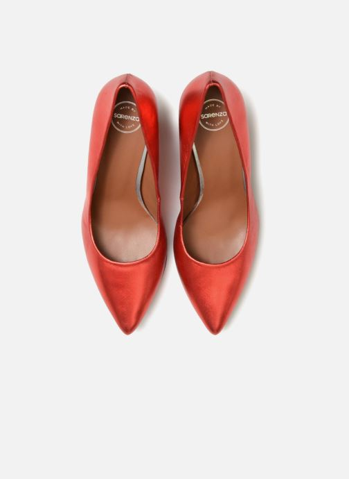 High heels Made by SARENZA 80's Disco Girl Escarpins #3 Red model view