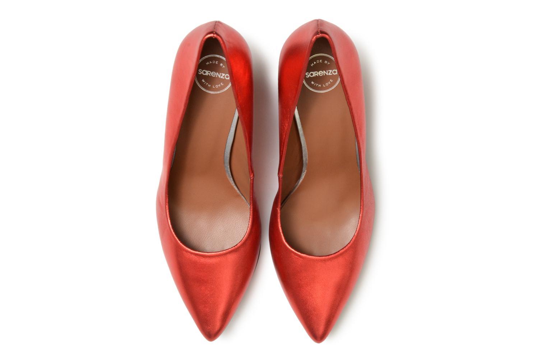 Escarpins Made by SARENZA 80's Disco Girl Escarpins #3 Rouge vue portées chaussures