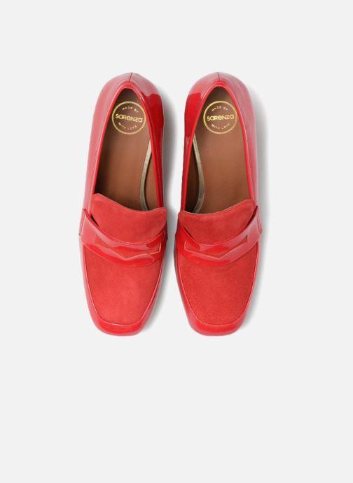 Mocasines Made by SARENZA Busy Girl Mocassin #3 Rojo vista del modelo