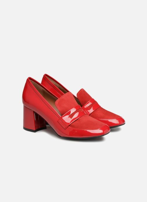 Girl Lisse Rouge Made Velours Busy Mocassin3 By Sarenza Cuir Mocassins fyIYv6gbm7