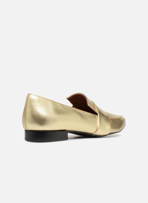 Slipper Made by SARENZA Busy Girl Mocassin #4 gold/bronze ansicht von vorne