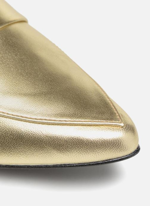 Slipper Made by SARENZA Busy Girl Mocassin #4 gold/bronze ansicht von links